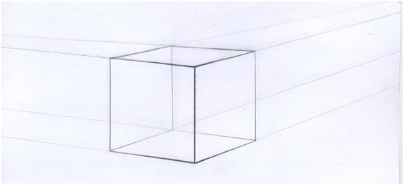 прозрачный куб